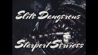 Elite Dangerous Tutorial - Starport Services