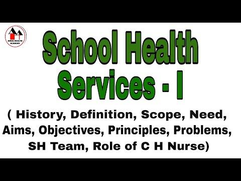 School Health Services / School Health Programme - Part:I / Community Health Nursing - Simplified.