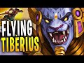 FLYING TIBERIUS! | Paladins Gameplay