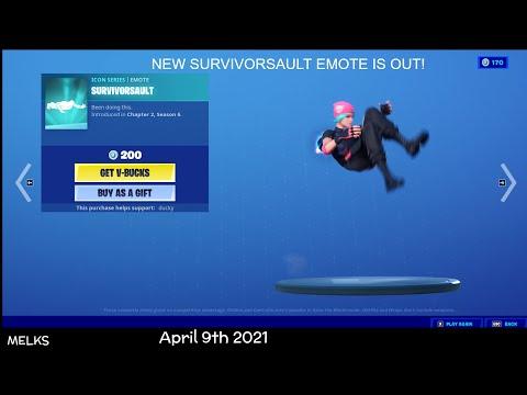Fortnite Item Shop (April 9th 2021)
