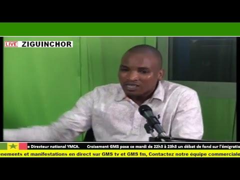 #TEST#GMS TV & GMS FM : CARREFOUR GMS SUR LA SITUATION DE L'ÉMIGRATION CLANDESTINE