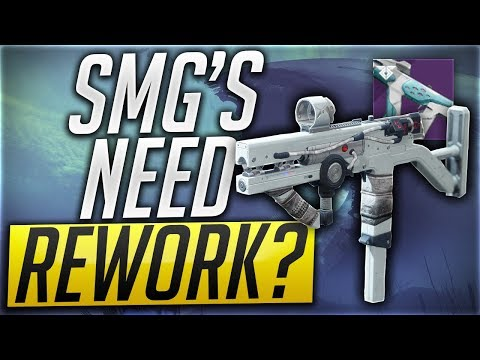 DESTINY 2 - SMG'S WORST WEAPON TYPE IN THE GAME thumbnail