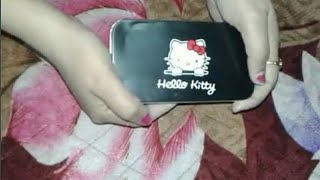Hello kitty makeup  brushes set review,