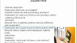 Урок чешского языка онлайн часть 5