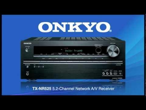 ONKYO TX-NR525 Wireless & Bluetooth Ready!