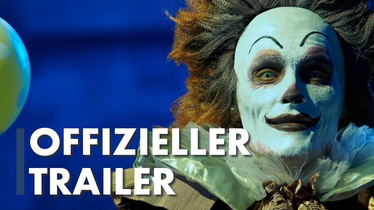 Carneval Der Clown Bringt Den Tod