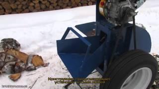 видео Дровокол с приводом от электрического двигателя купить ЧП Крючков Полтава