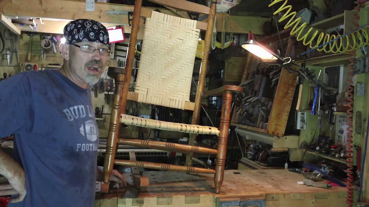 rocking chair repair youtube