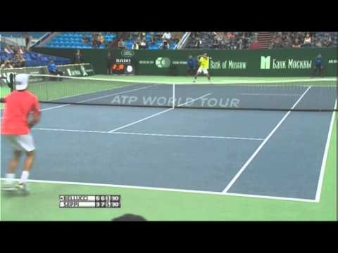 Seppi vs. Bellucci In 2012 Moscow Final Highlights