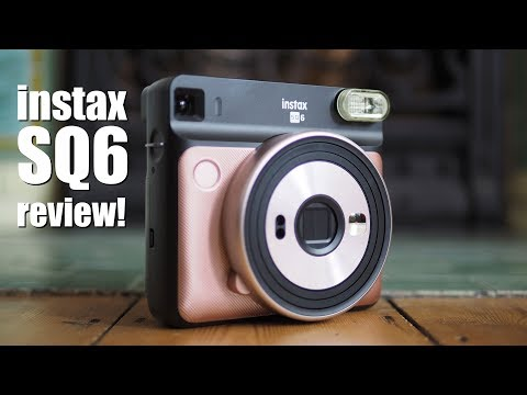 Fujifilm Instax SQ6 review - instant camera