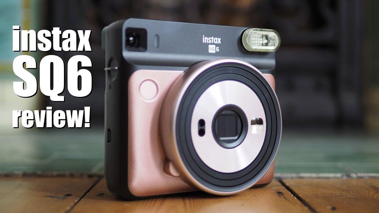Fujifilm Instax SQ6 review - instant camera - YouTube