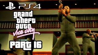 Grand Theft Auto Vice City PS4 Gameplay Walkthrough Part 16 - BANK HEIST - THE JOB