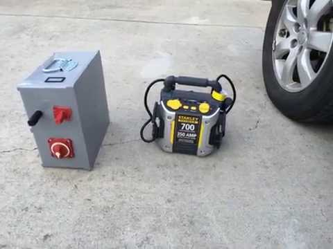 Diy Ultra Capacitor Battery Boost Box Vs Stanley Battery