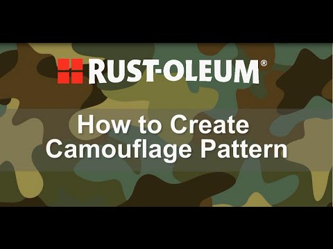 How to Spray Paint a Camouflage Pattern - YouTube