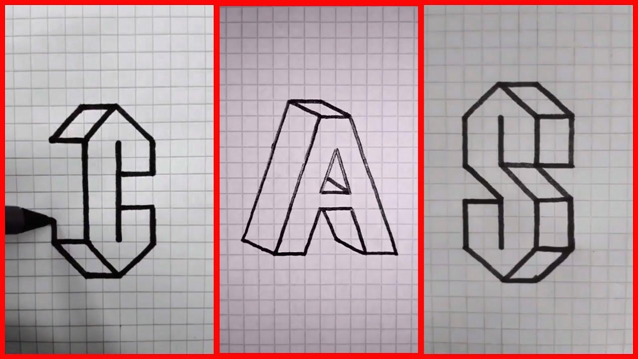 vẽ hình 3D đơn giản mà ai cũng có thể  thực hiện – happy origami #2