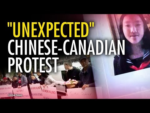 Outrage over Chinese-Canadian girl murdered by