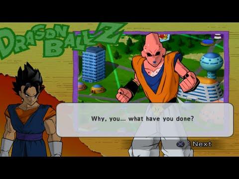 Dragon Ball Z Budokai 2 Walkthrough Part 14 - Super Vegito vs Buuhan (Majin Buu Saga)