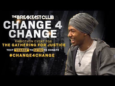 Nick Cannon On Empowering Leaders Of The Movement, Donates To The Cause
