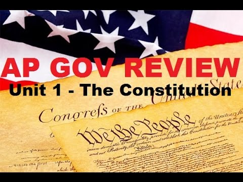 AP Gov Review: The Constitution, Articles of Confederation, Shays Rebellion - Chapter 2 Part 1