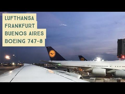 Lufthansa Frankfurt Buenos Aires - Boeing 747