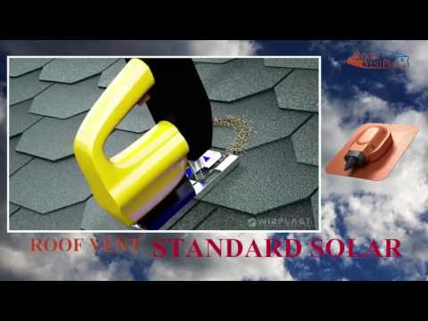 SOLAR PASS THROUGH INSTALLATION S21STANDARD FOR ROOF SHINGLES