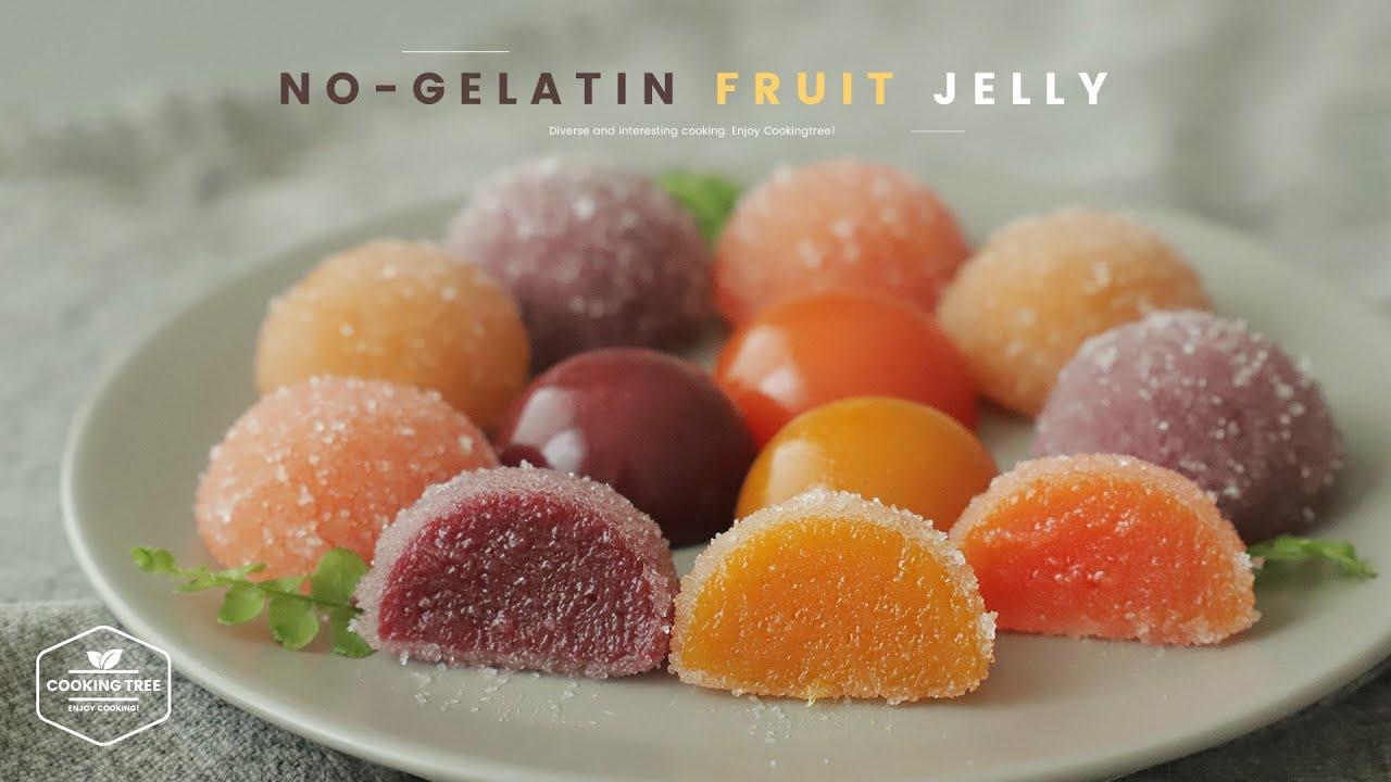 노젤라틴! 과일 젤리 만들기 : No-Gelatin Fruit Jelly Recipe | Cooking tree