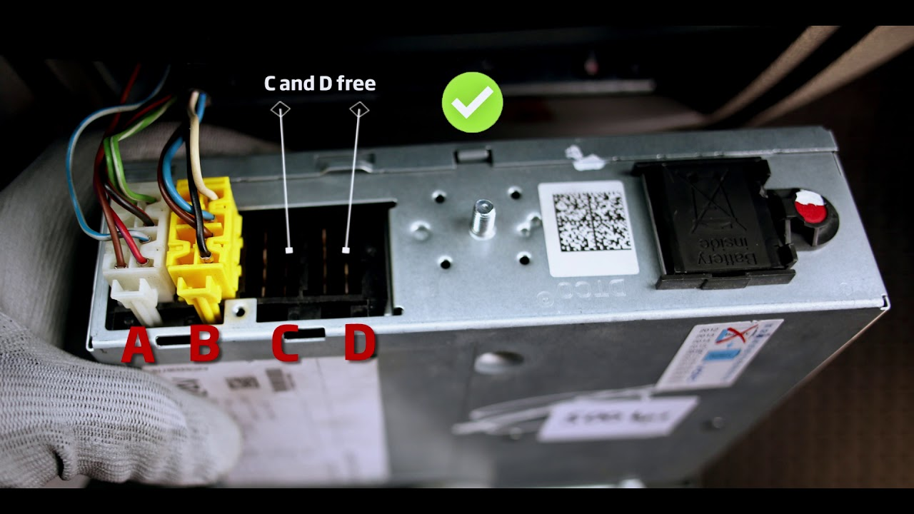 Tachograph Connection To Fm Tco4 Hcv Using Tacho Harness Youtube
