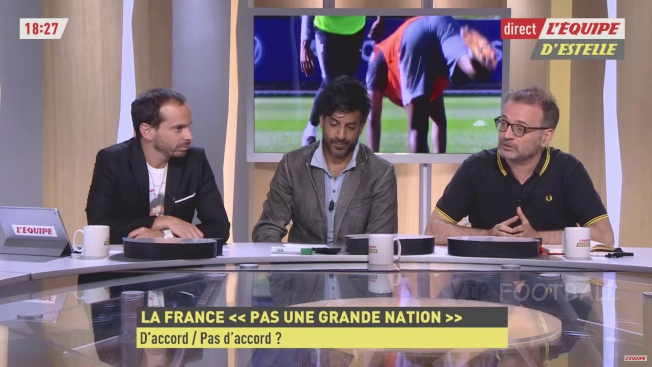 LA FRANCE N'EST PAS UNE GRANDE NATION DE FOOTBALL?!!