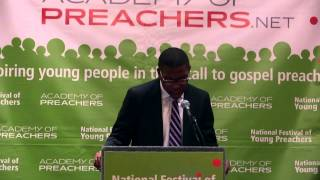 Jonathan Radford, 2014 National Festival of Young Preachers