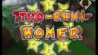Mario Superstar Baseball - Getting Home Runs with Every Character