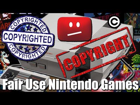 Fair Use Nintendo Games