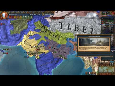 The Ottoman Fall - French World Conquest 1.24 - Part 39 - Europa Universalis IV