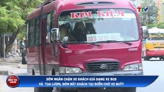 (TTV) Sớm ngăn chặn xe khách giả dạng buýt