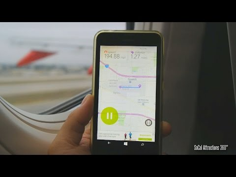 REALTIME GPS Airplane Take-off Speed - Using a Phone GPS on a Plane - Southwest Airlines