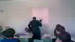 Видео с урока в школе