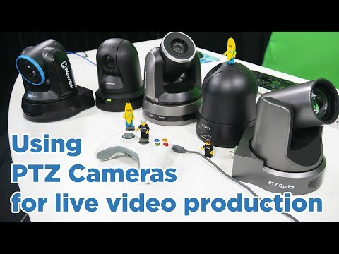Using PTZ Cameras in your live video production with vMix
