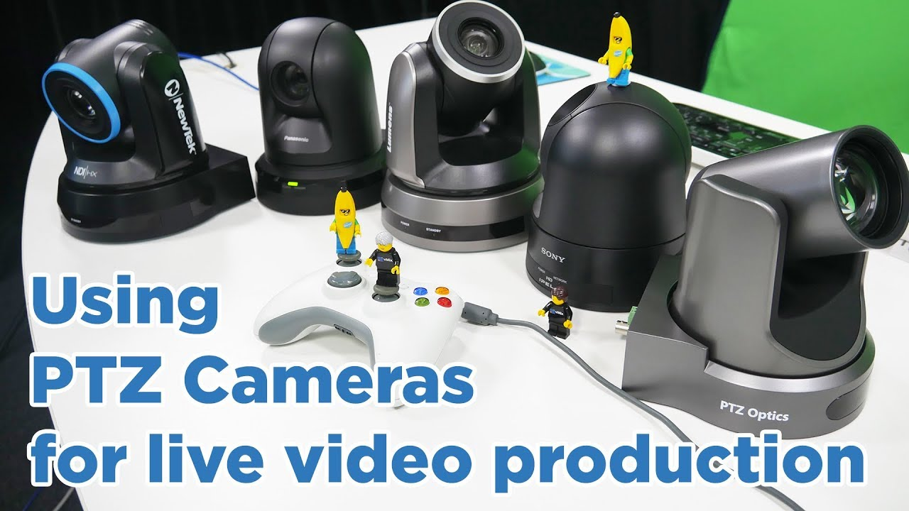 Using ptz cameras in your live video production with vmix for Camera it web tv