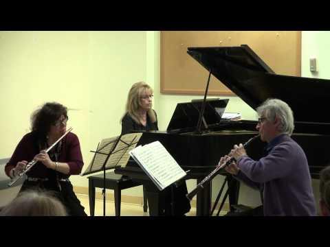 Trio Sonata in C minor for flute, oboe, and basso continuo by G.P. Telemann