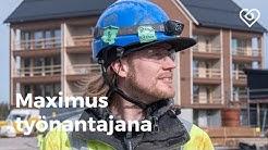 Maximus työnantajana | Haastattelussa: Lauri Lindholm | Duunitori
