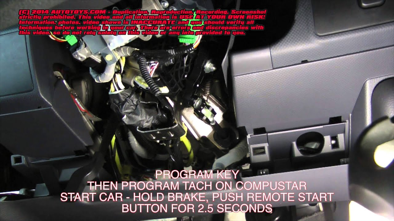 Honda Ridgeline Remote Start Uncut USE AT YOUR OWN RISK - YouTube