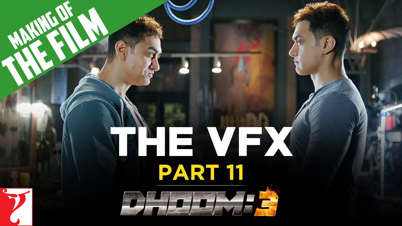 making of the film - dhoom:3 | the vfx of dhoom:3 | part 11 | aamir