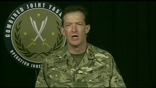 Inherent Resolve Official Briefs Reporters