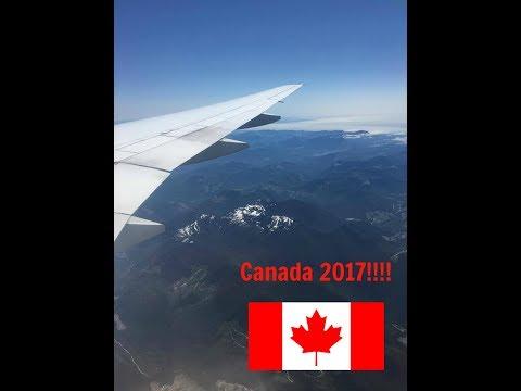My first travel vlog - Canada 2017 Vlog number 1
