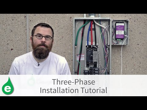 Three-Phase Installation Tutorial