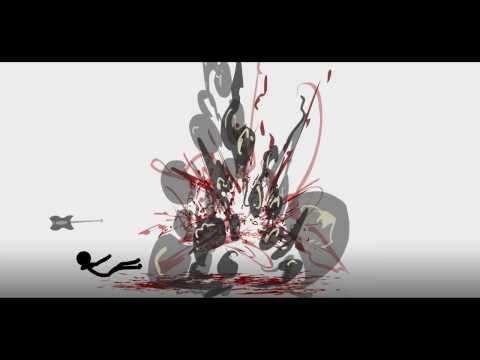 BYE  e HD  Stick Fight  60 Deaths in 5 Minutes  Flash Animation