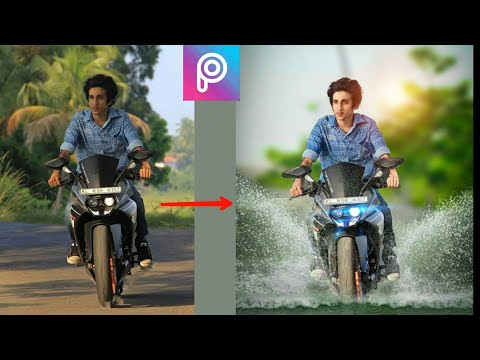picsart bike editing || how to change background in picsart app || editing in picsart app || picsart