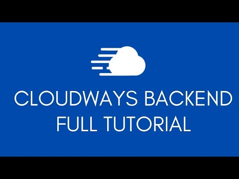 Cloudways Hosting Backend Full Tutorial - Security, Backups, SSL & More