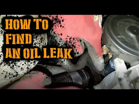 How to find an oil leak in your engine youtube for How to buy motor oil