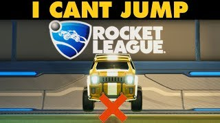 I CANT JUMP | Rocket League Challenges #3 (Competitive 1v1)