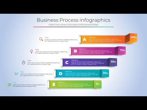 Design 3D Infographic Slide for Business, Finance Presentati